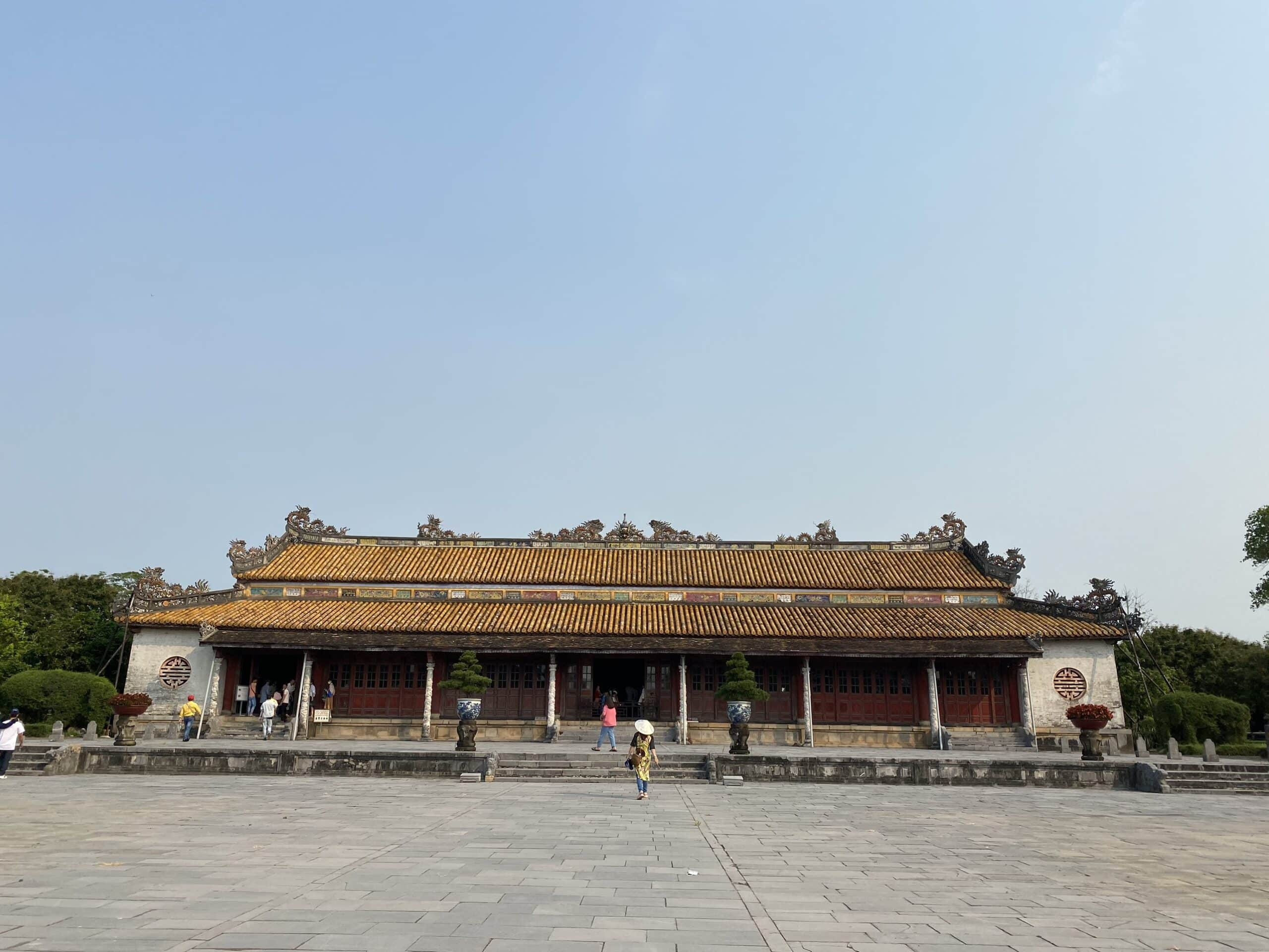 Hue Citadel witnessed the fall of the last dynasty during the Vietnamese feudal dynasty with 13 kings.