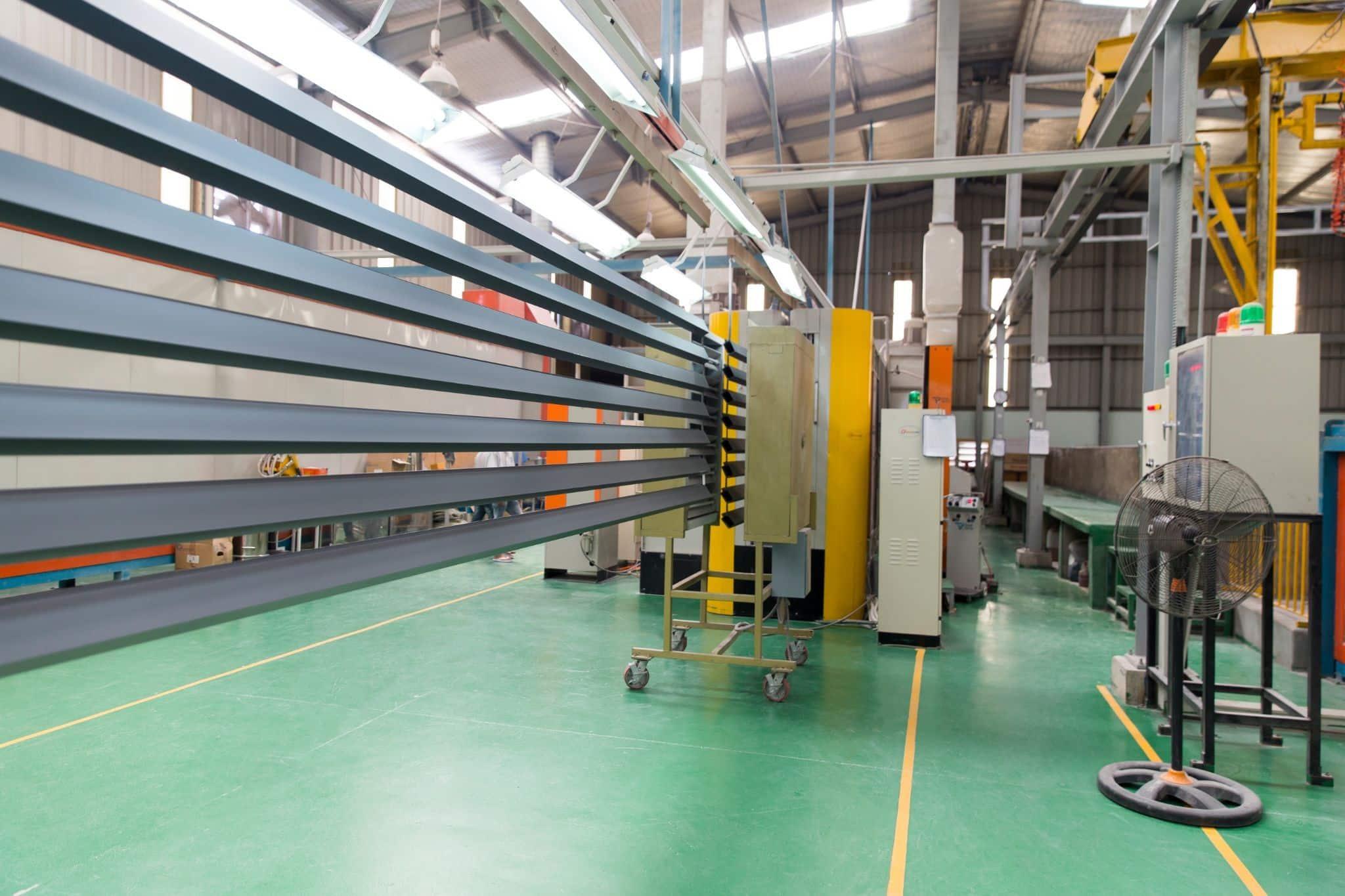 Công nghệ sơn tĩnh điện đảm bảo tính thẩm mỹ cho các sản phẩm