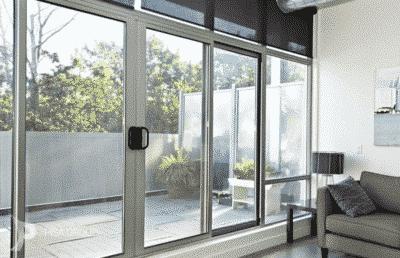 Sliding door powder coat make more colorful spacing